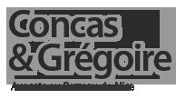 Avocat NICE – Concas & Grégoire – Avocats au Barreau de NICE Logo